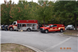 Fayette County Fire/EMS trucks
