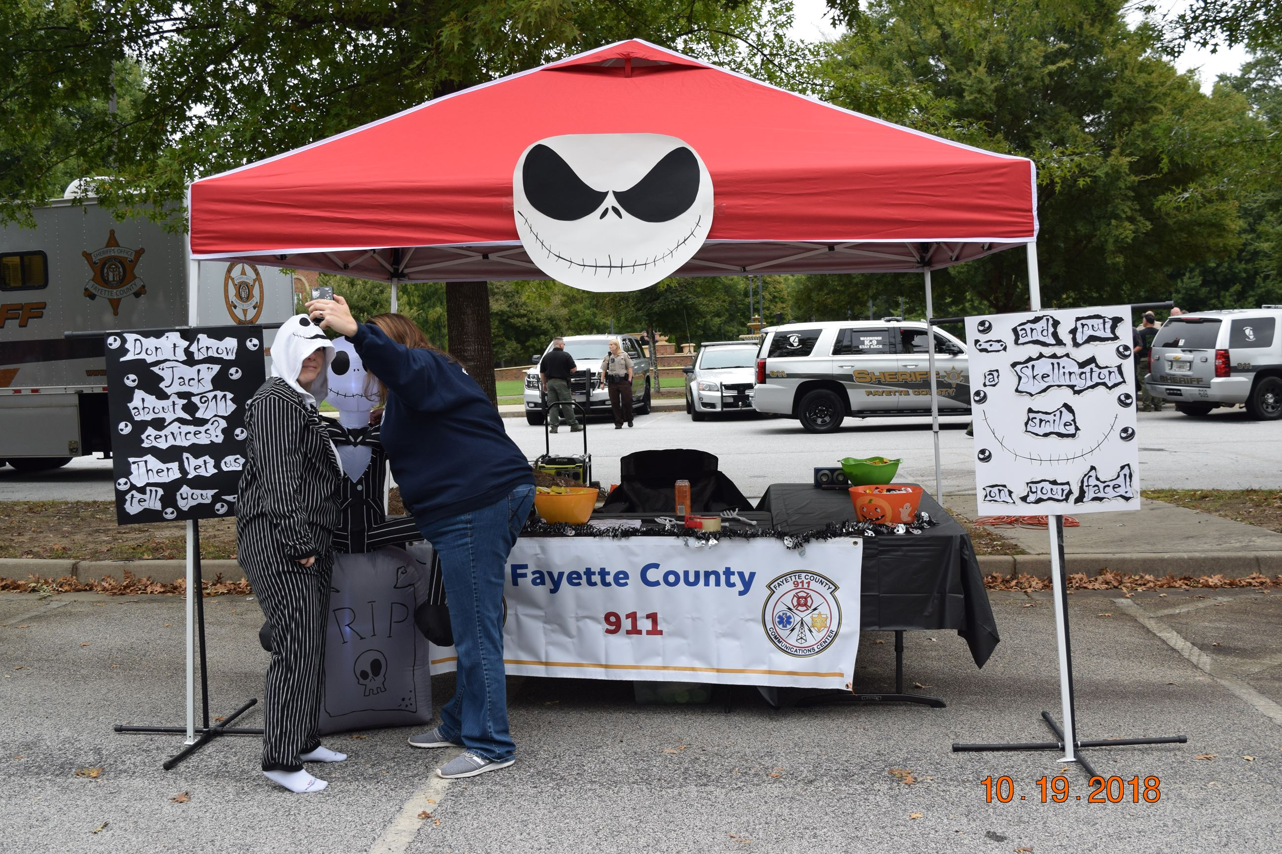 Fayette County 911 Booth