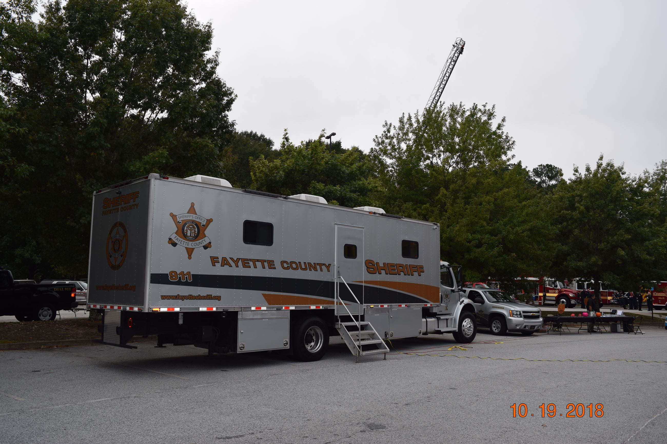 Sheriff ATLAS vehicle