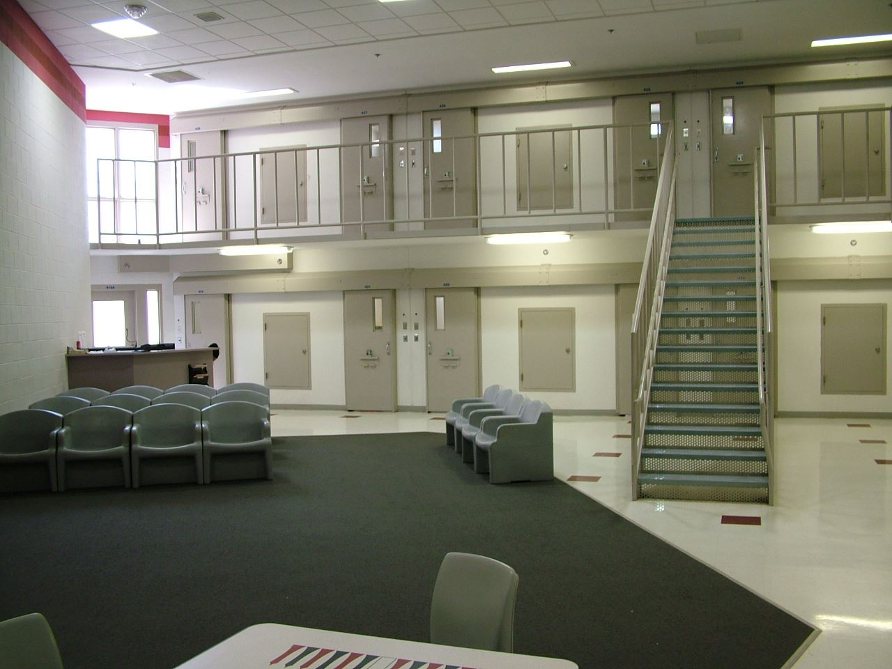Jail Cell Block