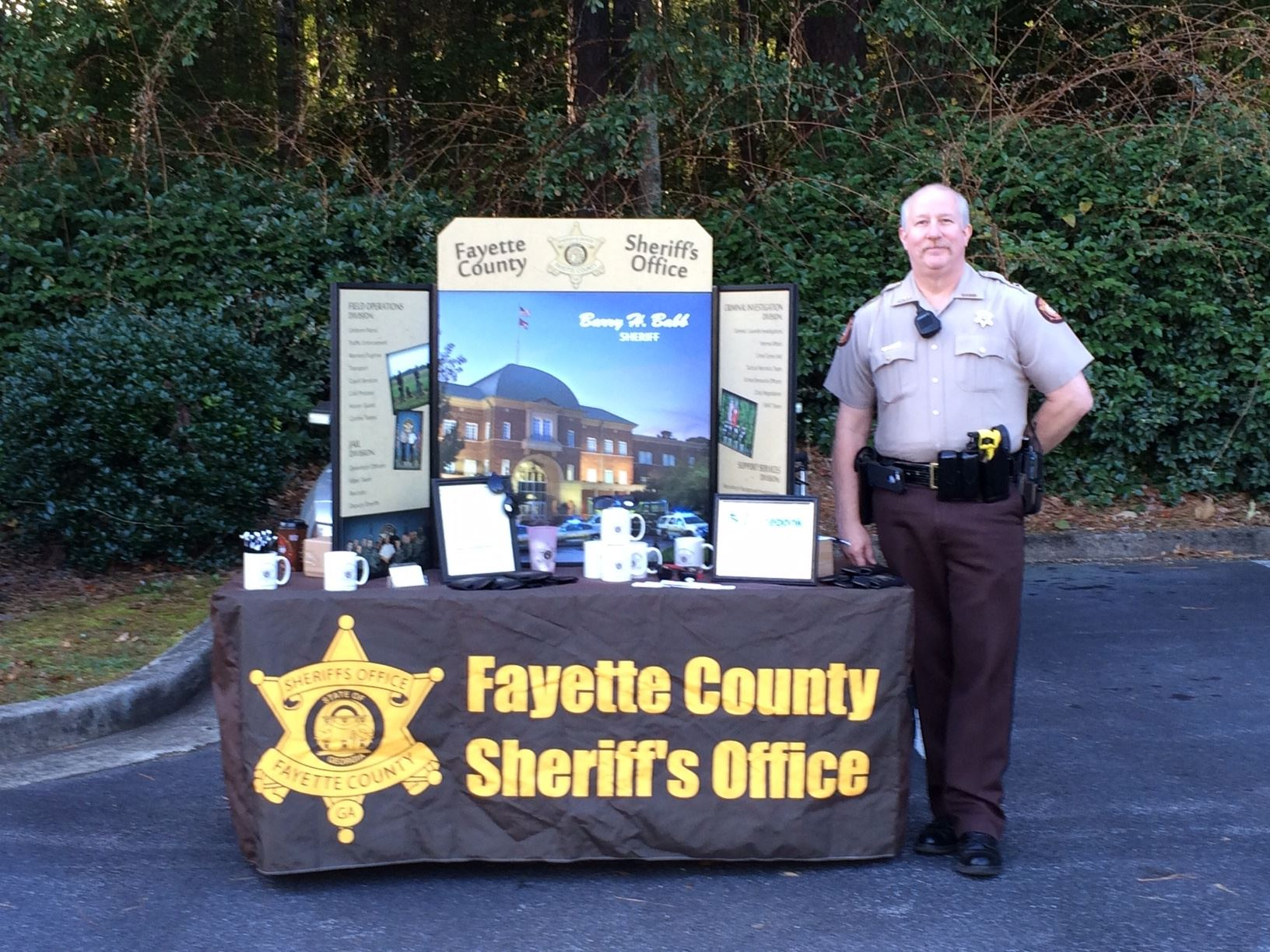 Fayette County Sheriffs Office Table