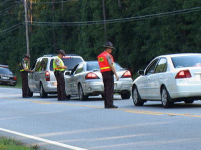 Conducting Highway Safety Checkpoint